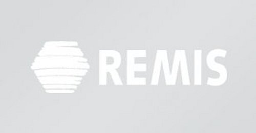REMIS Logo in Weiß