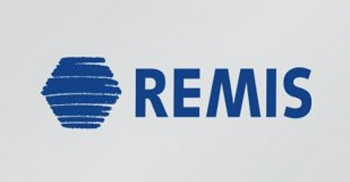 REMIS Logo in Blau